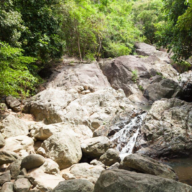 Водопад на Koh Samui стоковые фото