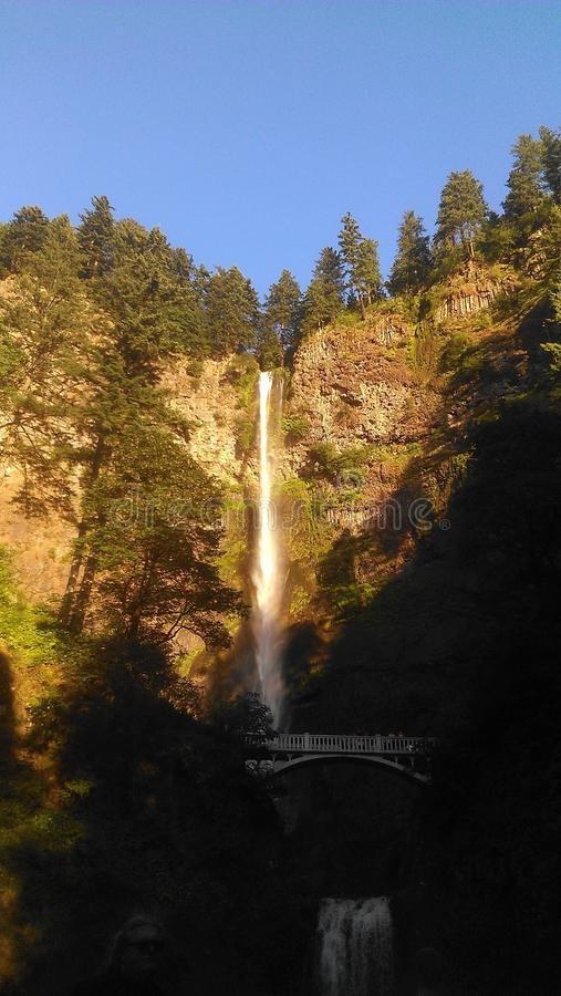 Водопад Орегона стоковая фотография
