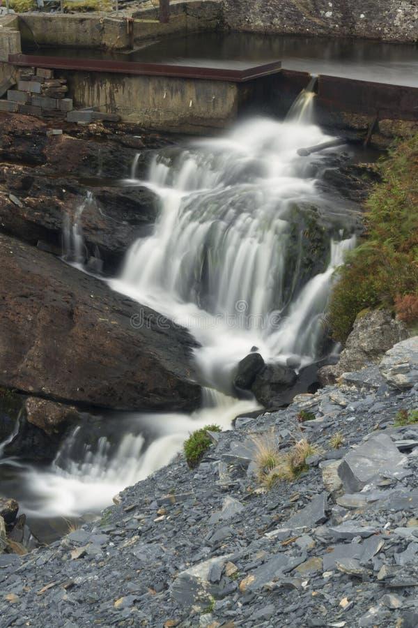 Download Водопад потока горы, долгая выдержка Стоковое Фото - изображение насчитывающей вода, ручейка: 41662676
