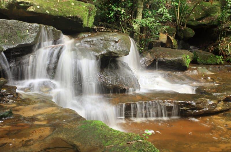 Водопад природы - Somersby понижается Австралия стоковые изображения