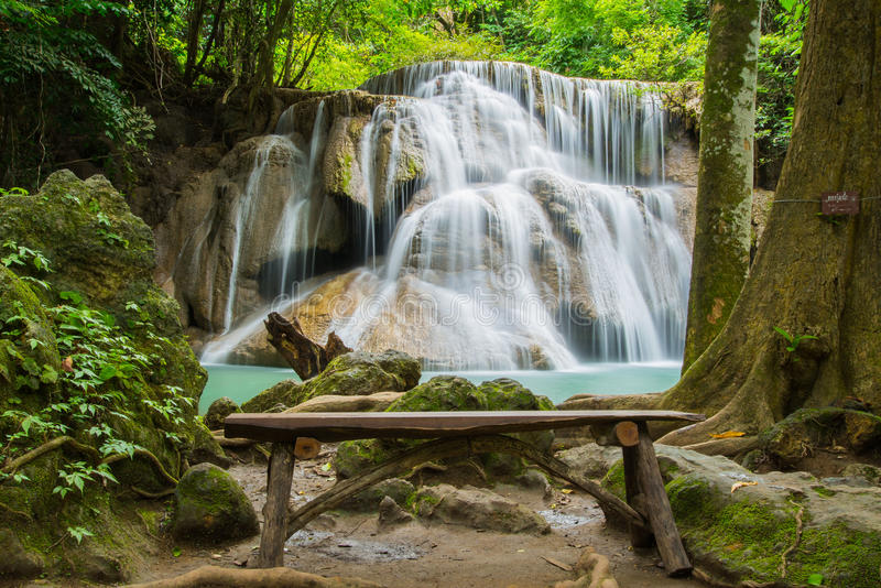 водопад Таиланда стоковое изображение