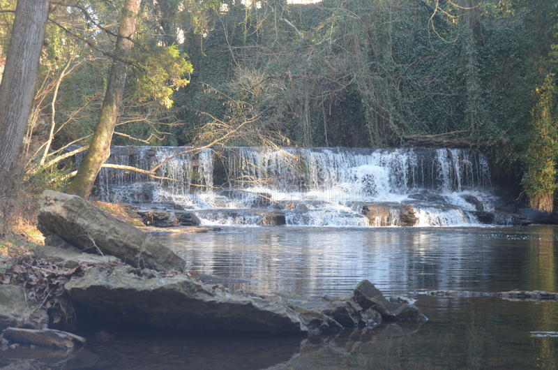 Водопад Теннесси стоковые фотографии rf