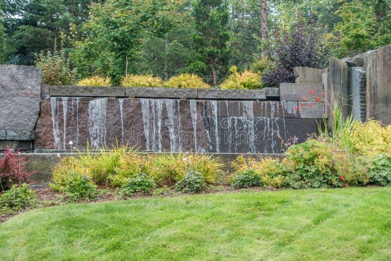 водопад 2 фонтанов стоковое фото