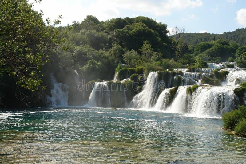 водопады Антальи стоковое изображение