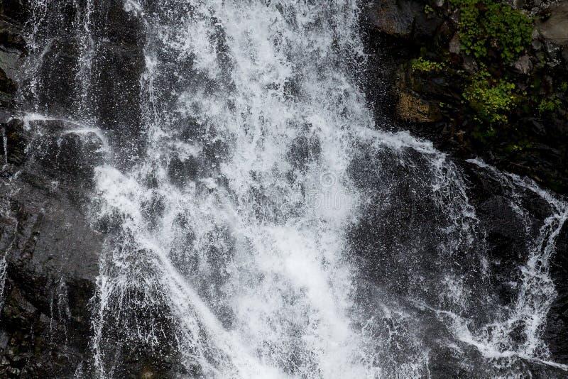 Водопады в EC укомплектовывая личным составом парк, Британскую Колумбию стоковая фотография rf