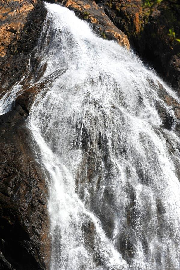 Водопады в Goa стоковое изображение rf