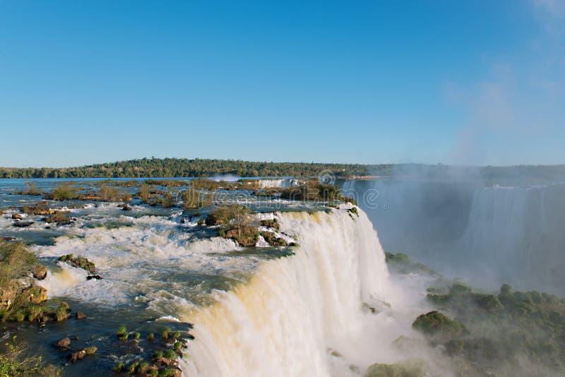 Водопады Iguazu стоковое изображение rf