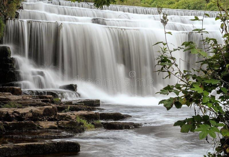 Водопады Monsal стоковое фото rf