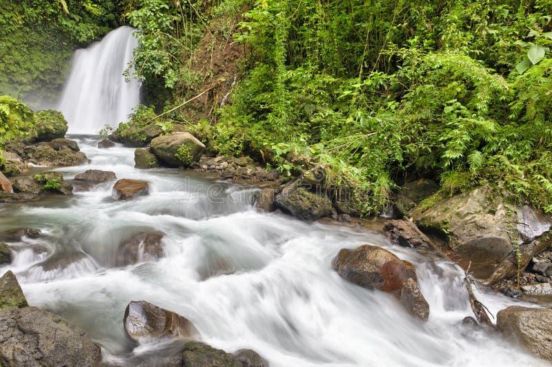 Водопад, Arenal, Коста-Рика стоковые фото