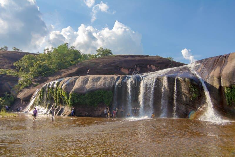 'Водопад Bungkan Таиланд Tham Phra' стоковые изображения