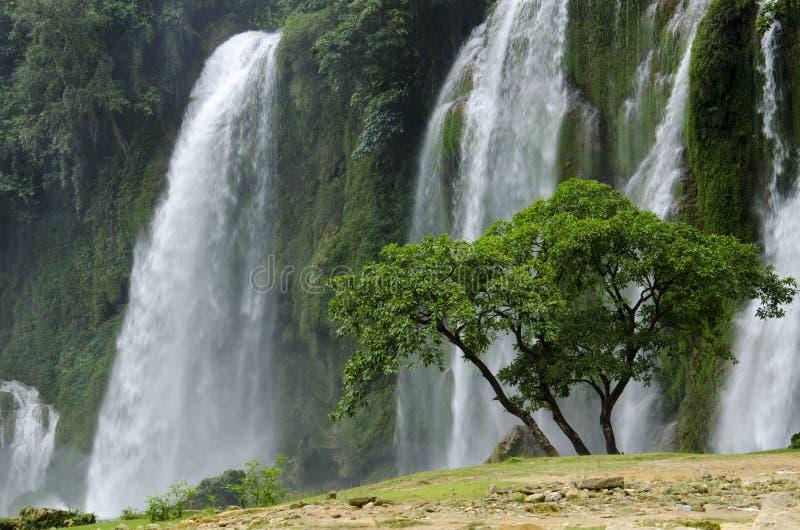 Водопад Detian стоковые изображения