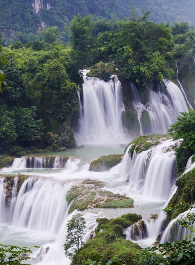 Водопад Detian стоковое фото rf