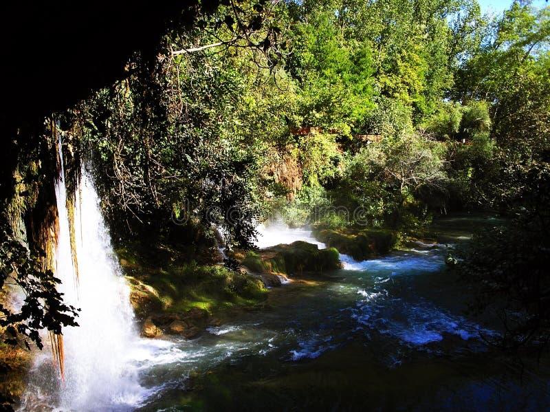Водопад Duden, Анталья стоковые фотографии rf