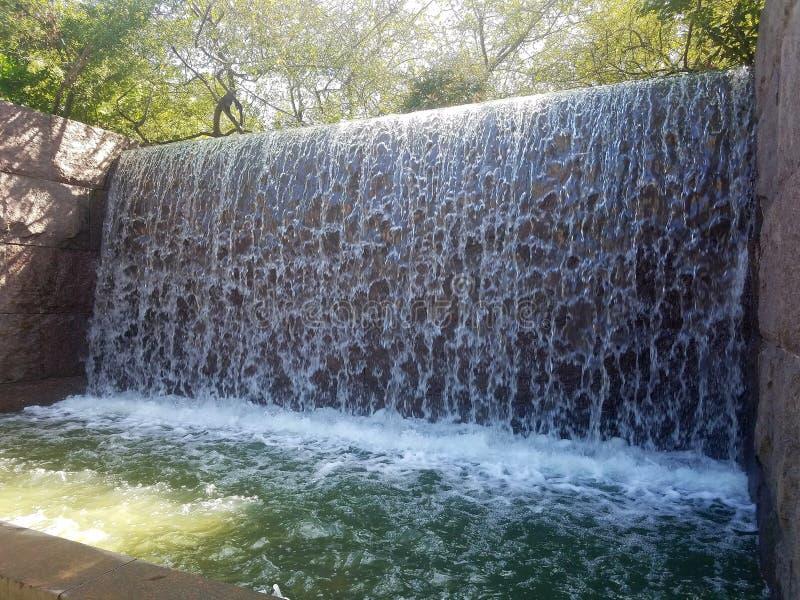 Водопад FDR стоковое фото