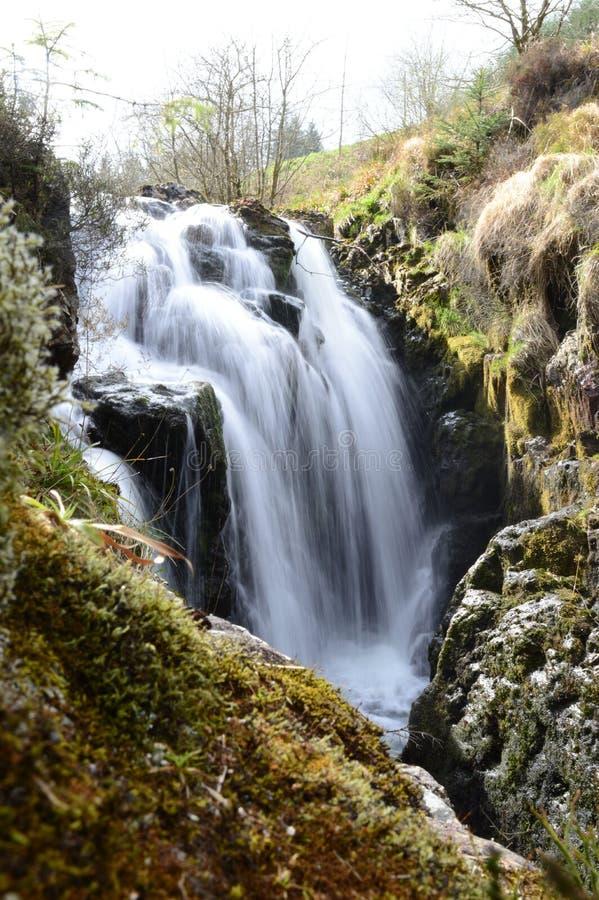 Водопад Hafren стоковые изображения