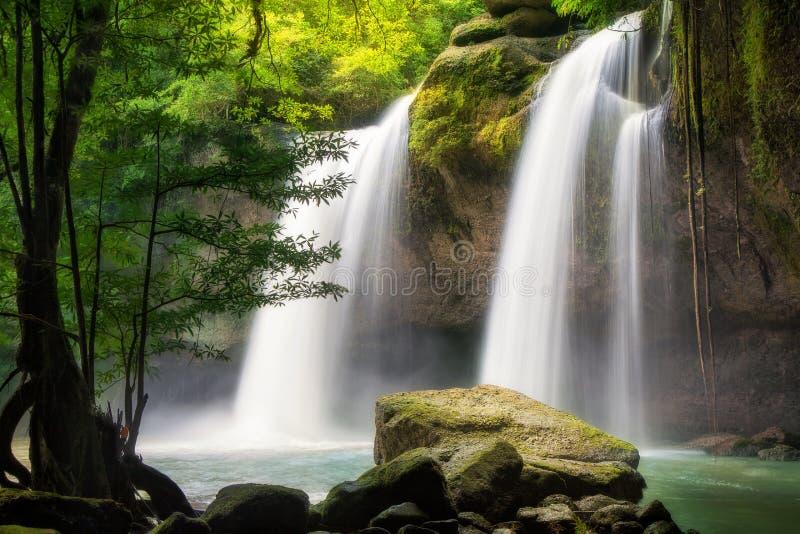 Водопад Heo Suwat стоковые изображения