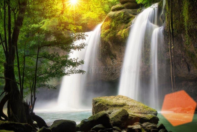 Водопад Heo Suwat стоковое фото