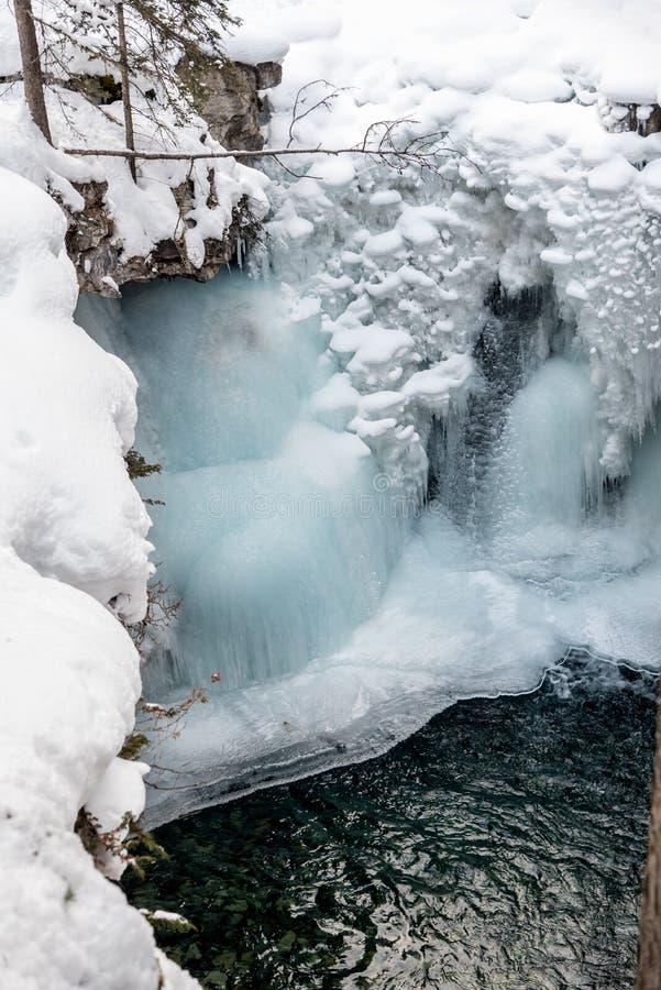 Водопад Johnston стоковое изображение rf
