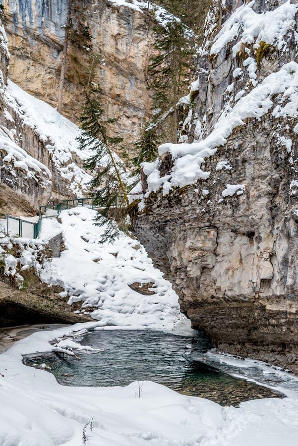 Водопад Johnston стоковая фотография