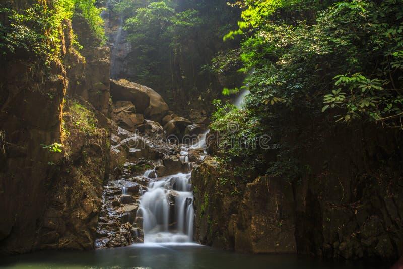 Водопад, Phliu стоковые изображения