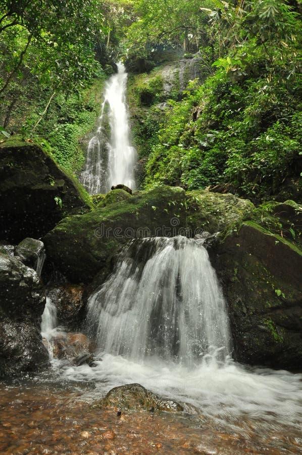 Водопад Sankon стоковое фото rf