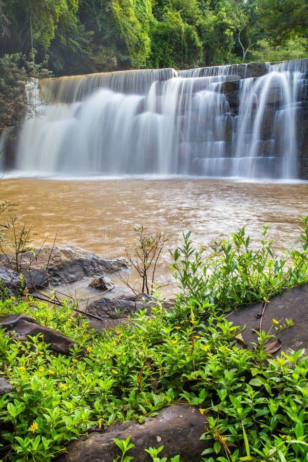 Водопад Si Dit стоковые фотографии rf