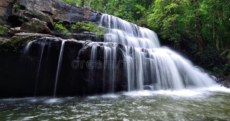 Водопад Sida угрызения стоковое изображение rf