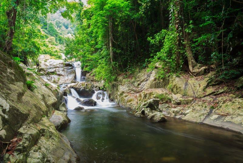 водопад soidao khao стоковое изображение rf