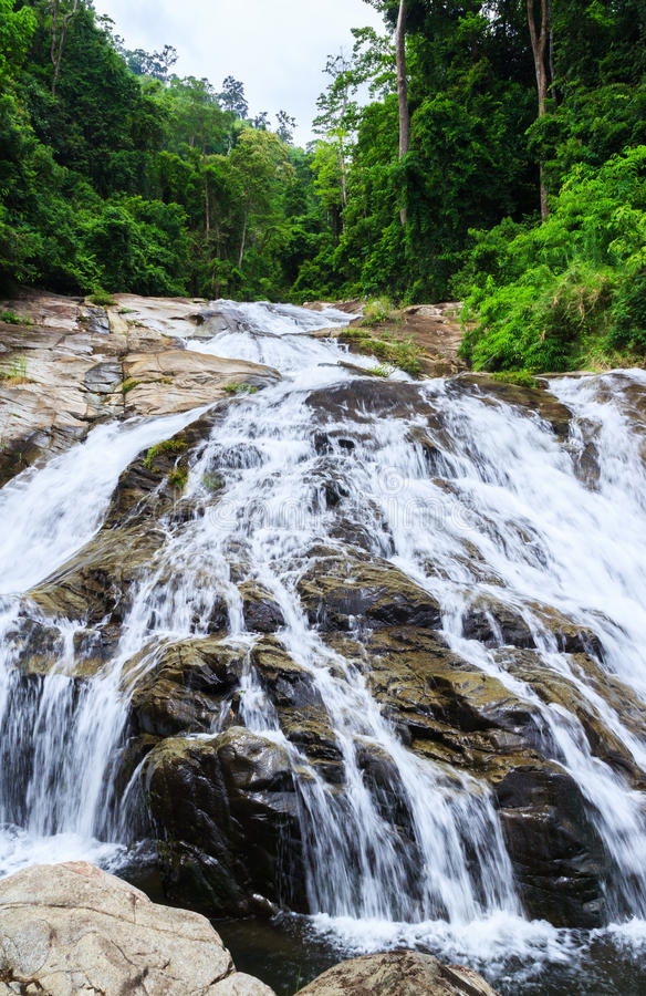 водопад soidao khao стоковая фотография rf