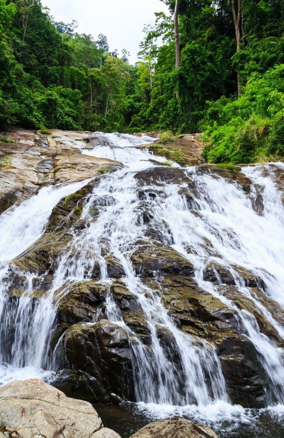 водопад soidao khao стоковое изображение
