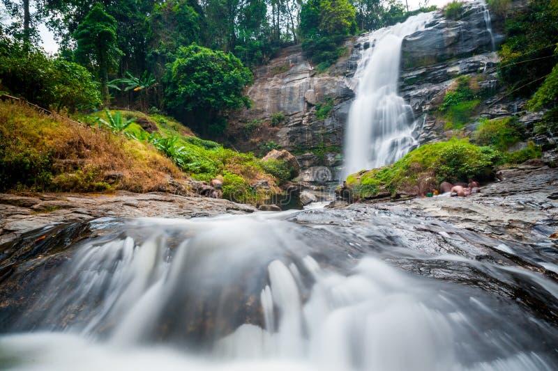 Водопад Vachiratharn в Таиланде стоковая фотография