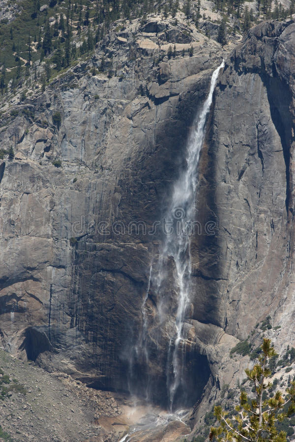 Водопад Yosemite стоковое изображение