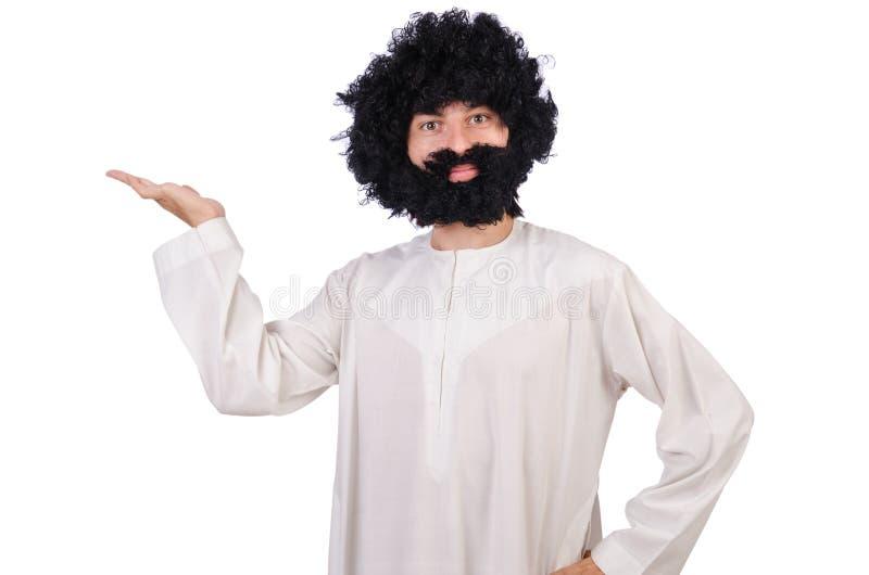 Волосатый смешной человек стоковые изображения