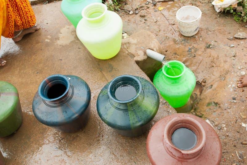 Водохозяйственные проблемы стоковое изображение