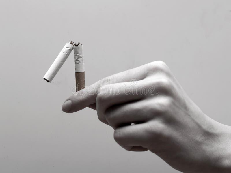 во первых прекращено курить шаг к стоковые фотографии rf