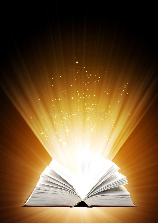 Волшебная книга стоковая фотография