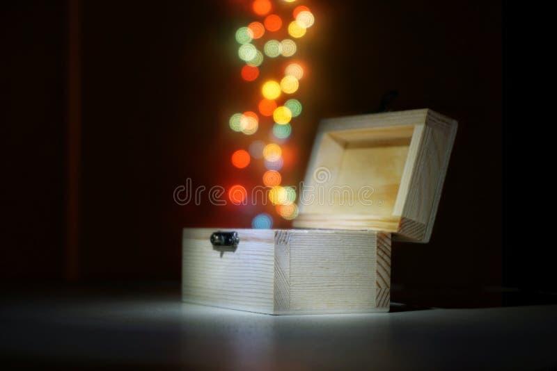 Волшебная коробка стоковое изображение rf