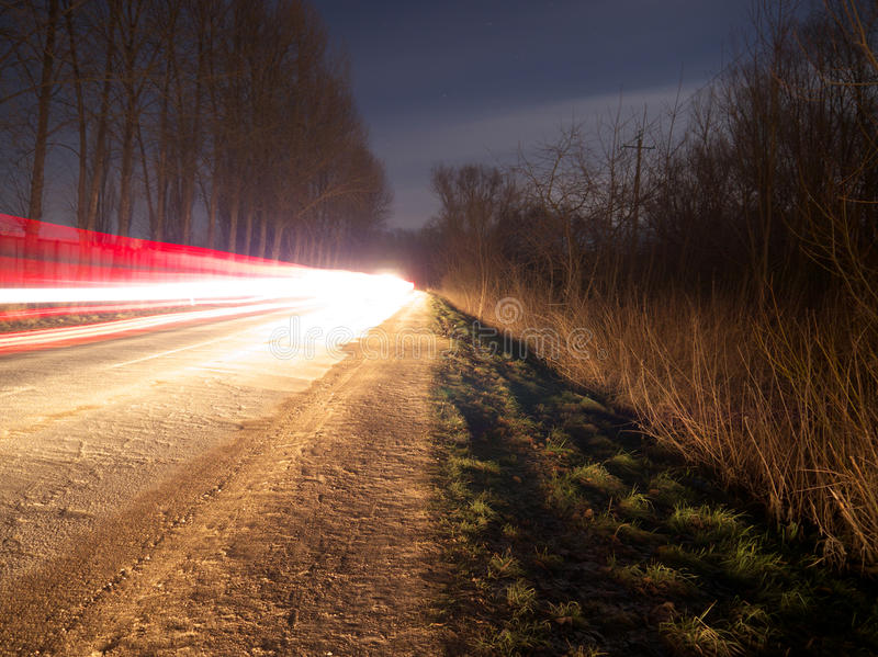 волшебная ноча стоковые фото