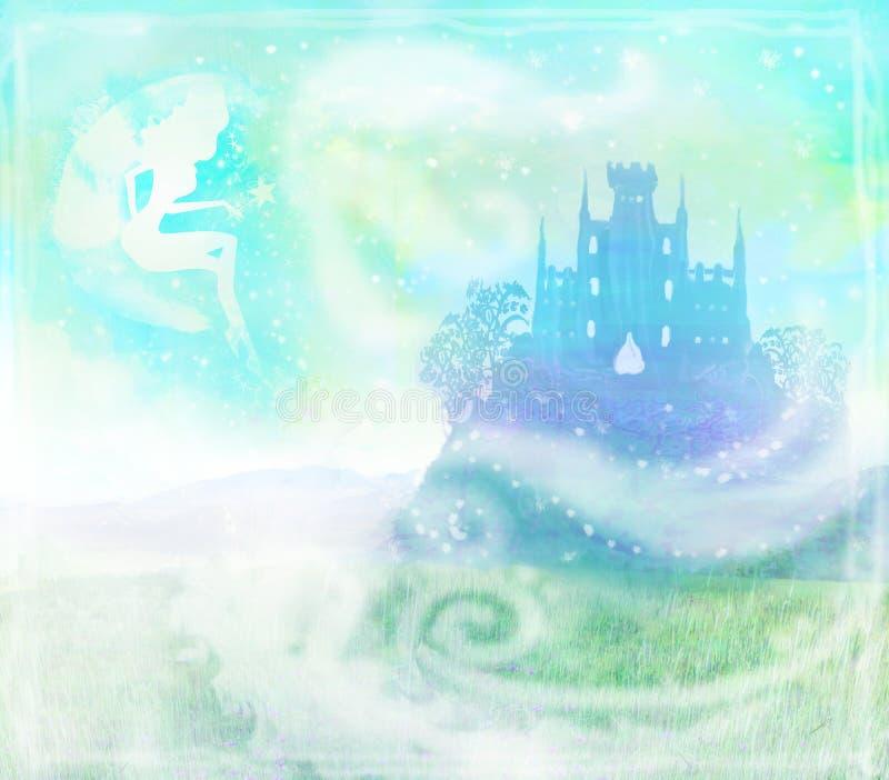 Download Волшебная принцесса Замок сказки Иллюстрация штока - иллюстрации насчитывающей старо, наведенное: 33726891