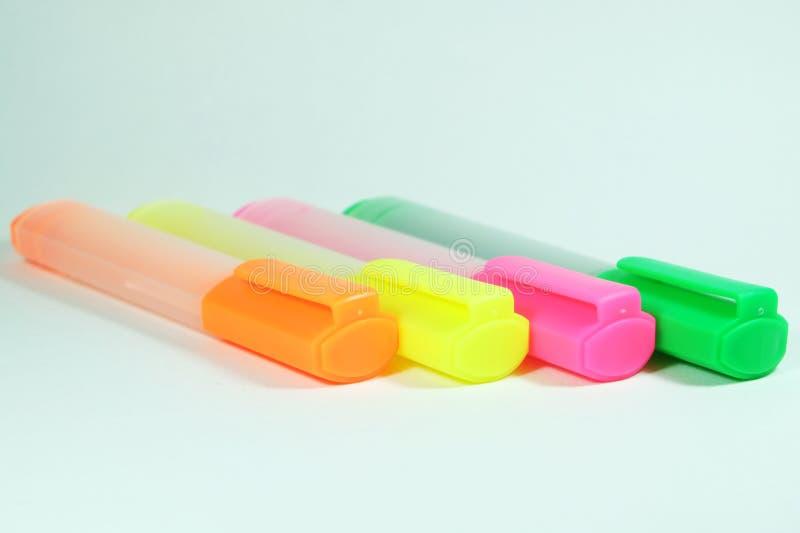Волшебная ручка в красочном стоковые фото
