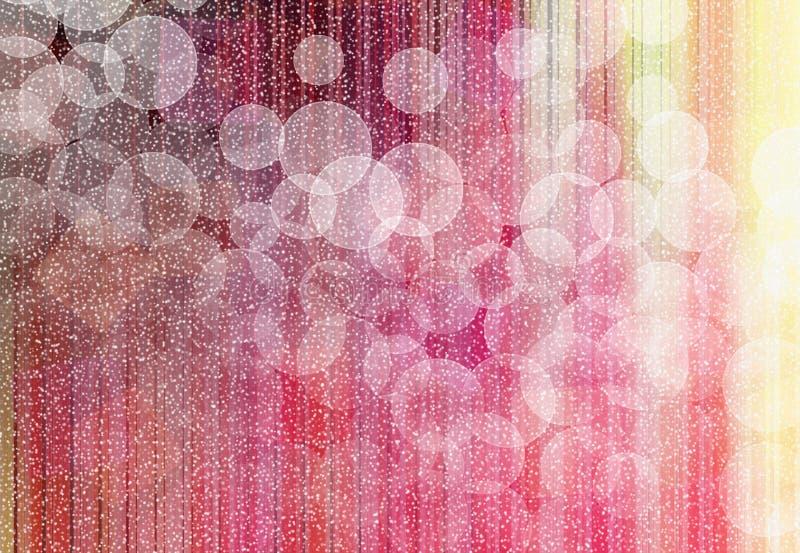 Download Волшебная снежная предпосылка Иллюстрация штока - иллюстрации насчитывающей планета, света: 33728581