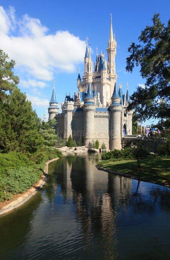 Волшебный замок королевства в мире Дисней в Орландо стоковая фотография rf