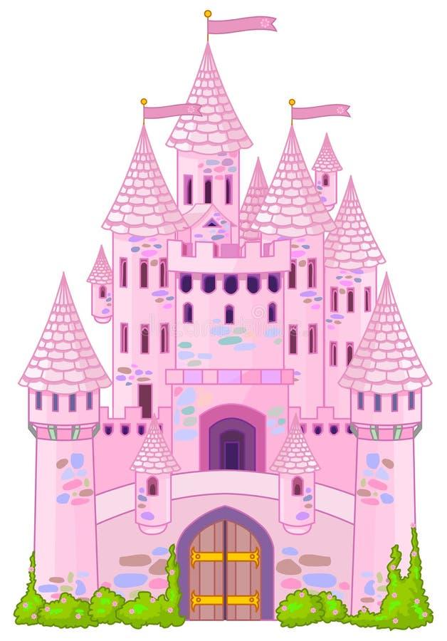 Волшебный замок иллюстрация вектора