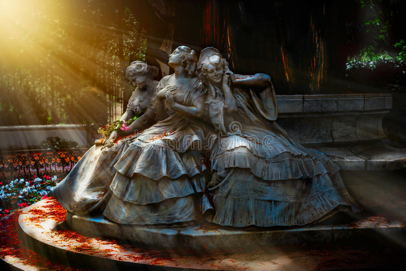 Волшебный пейзаж Памятник, который нужно полюбить стоковое фото rf