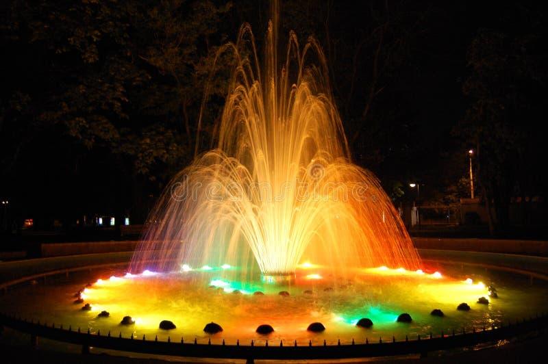 Волшебный фонтан стоковое фото rf