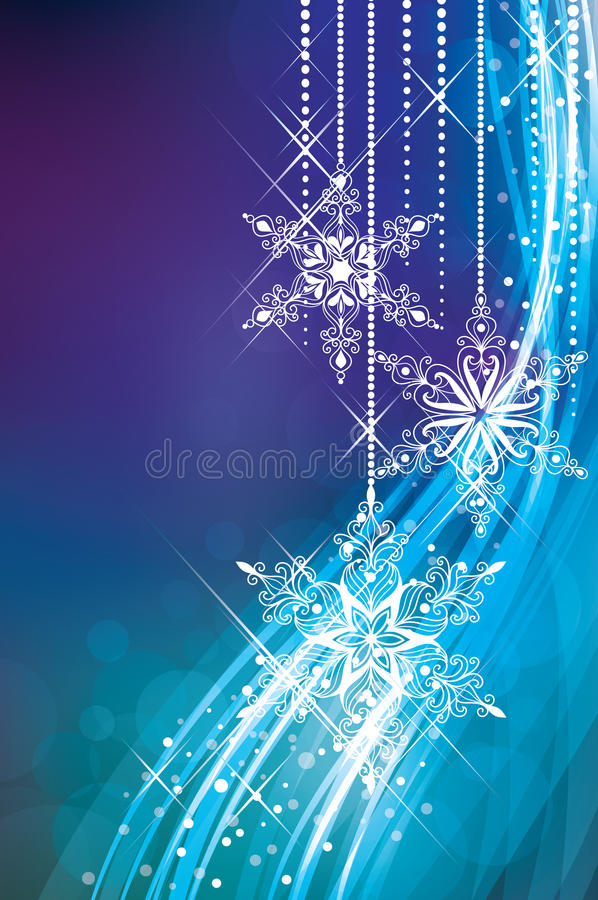 волшебство рождества иллюстрация штока