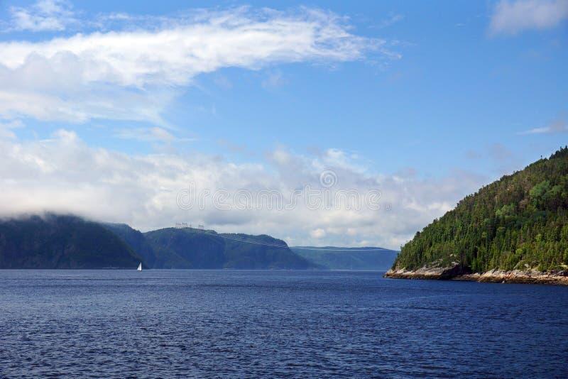 Воды Saguenay стоковое фото rf
