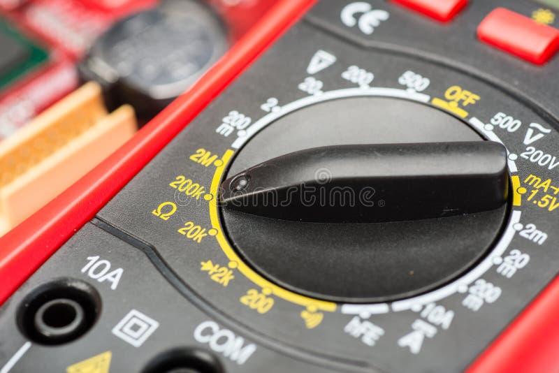 вольтамперомметр стоковое фото