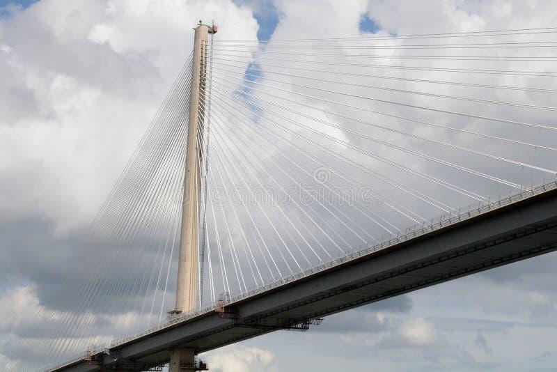 Вперед мост дороги, лиман вперед, Шотландия стоковые фото