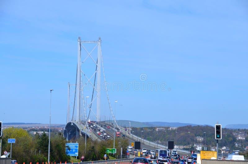 Вперед мост дороги, Queensferry стоковое изображение rf